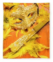 Stage And Dance Still Life Fleece Blanket