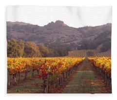 Stags Leap Wine Cellars Napa Fleece Blanket