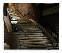 Staircase On The Blvd. Fleece Blanket
