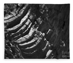 Stairs Of Time Fleece Blanket