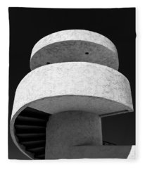 Stairs To Nowhere Fleece Blanket
