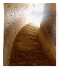 Stairway From Heaven Fleece Blanket