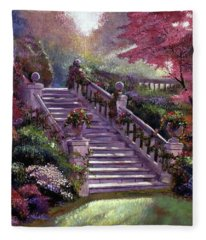 Stairway To My Heart Fleece Blanket