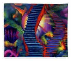 Stairways Fleece Blanket