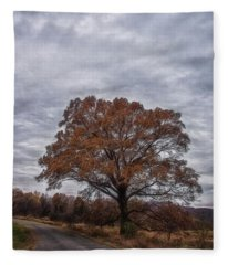 Standing Alone Fleece Blanket
