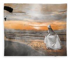 Standing By My Word Fleece Blanket