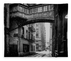 Staple Street Nyc Fleece Blanket