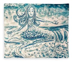 Star Bearer Mermaid Fleece Blanket
