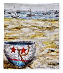Star Boat Fleece Blanket