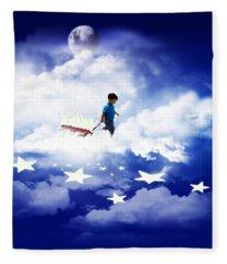 Star Boy Fleece Blanket