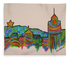Star City Play Fleece Blanket