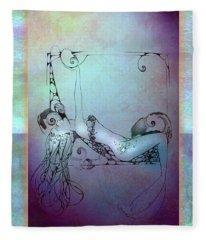 Star Mermaid Fleece Blanket