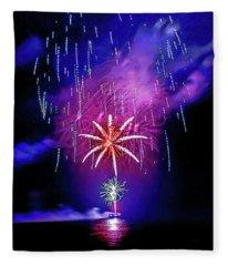Star Of The Night Fleece Blanket