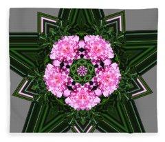 Star Peony Fleece Blanket