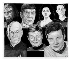 Star Trek Crew Fleece Blanket