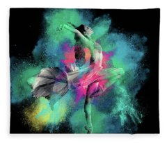 Stardust Dancer Fleece Blanket
