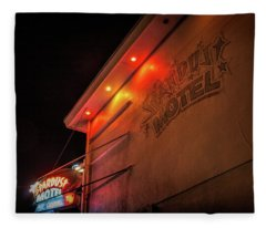 Stardust Motel Fleece Blanket
