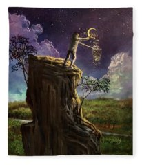 Starlight Dreams Fleece Blanket