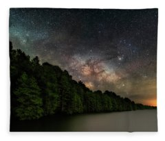 Starlight Swimming Fleece Blanket