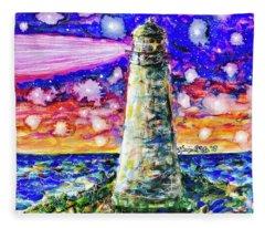Starry Light Fleece Blanket