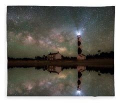 Starry Reflections Fleece Blanket