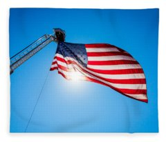 Stars And Stripes Forever Fleece Blanket