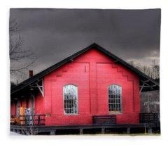 Station House Fleece Blanket