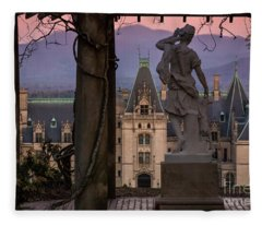 Statue Of Diana Fleece Blanket