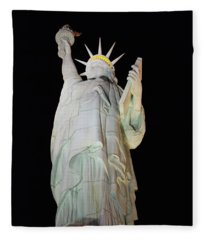 Statue Of Liberty.... Not Fleece Blanket