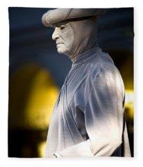 Statuesque Fleece Blanket