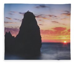 Stay In This Moment Fleece Blanket