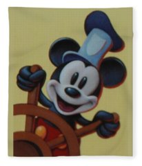 Steamboat Willy Fleece Blanket
