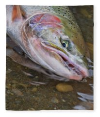 Steelhead  2 Fleece Blanket