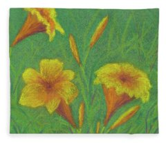 Stella D'oro #2 Fleece Blanket