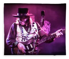 Stevie Ray Vaughan - Change It Fleece Blanket