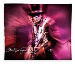 Stevie Ray Vaughan - Crossfire Fleece Blanket