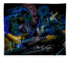 Stevie Ray Vaughan - Double Trouble Fleece Blanket