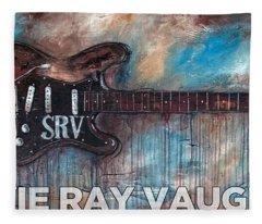 Stevie Ray Vaughan Double Trouble Fleece Blanket