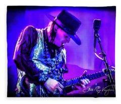 Stevie Ray Vaughan - Tightrope Fleece Blanket