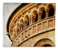 St. Gereon Church In Cologne, Germany Fleece Blanket