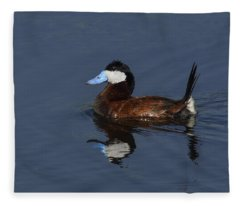 Stiff Tail Fleece Blanket