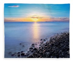 Stiletto Shore Fleece Blanket