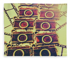 Still In Film Fleece Blanket