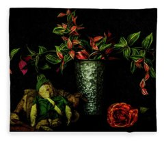 Still Life # 2 Fleece Blanket