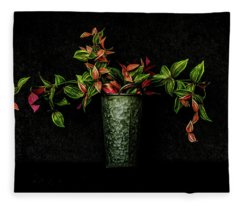 Still Life # 3 Fleece Blanket