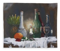 Still Life Fleece Blanket