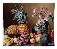 Still Life With Pineapples, 1908 Fleece Blanket