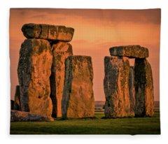 Still Standing Fleece Blanket