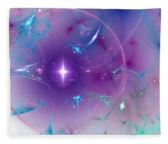 Still Waters Run Deep Fleece Blanket