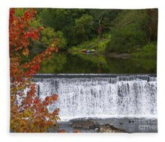 Stillness Of Beauty Fleece Blanket
